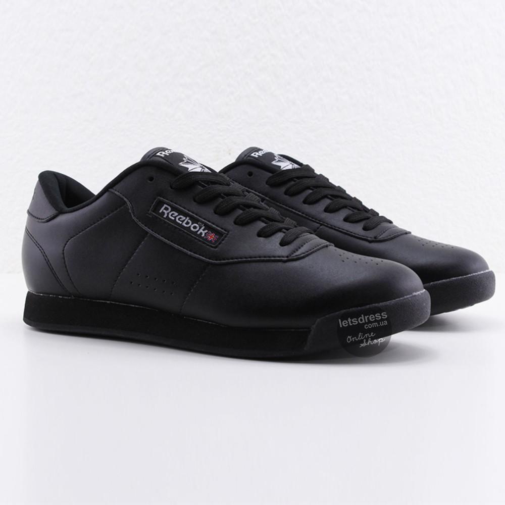 5e00965cfa23 Мужские черные кожаные кроссовки Reebok Classic Retro Black M, рибок  классик ретро