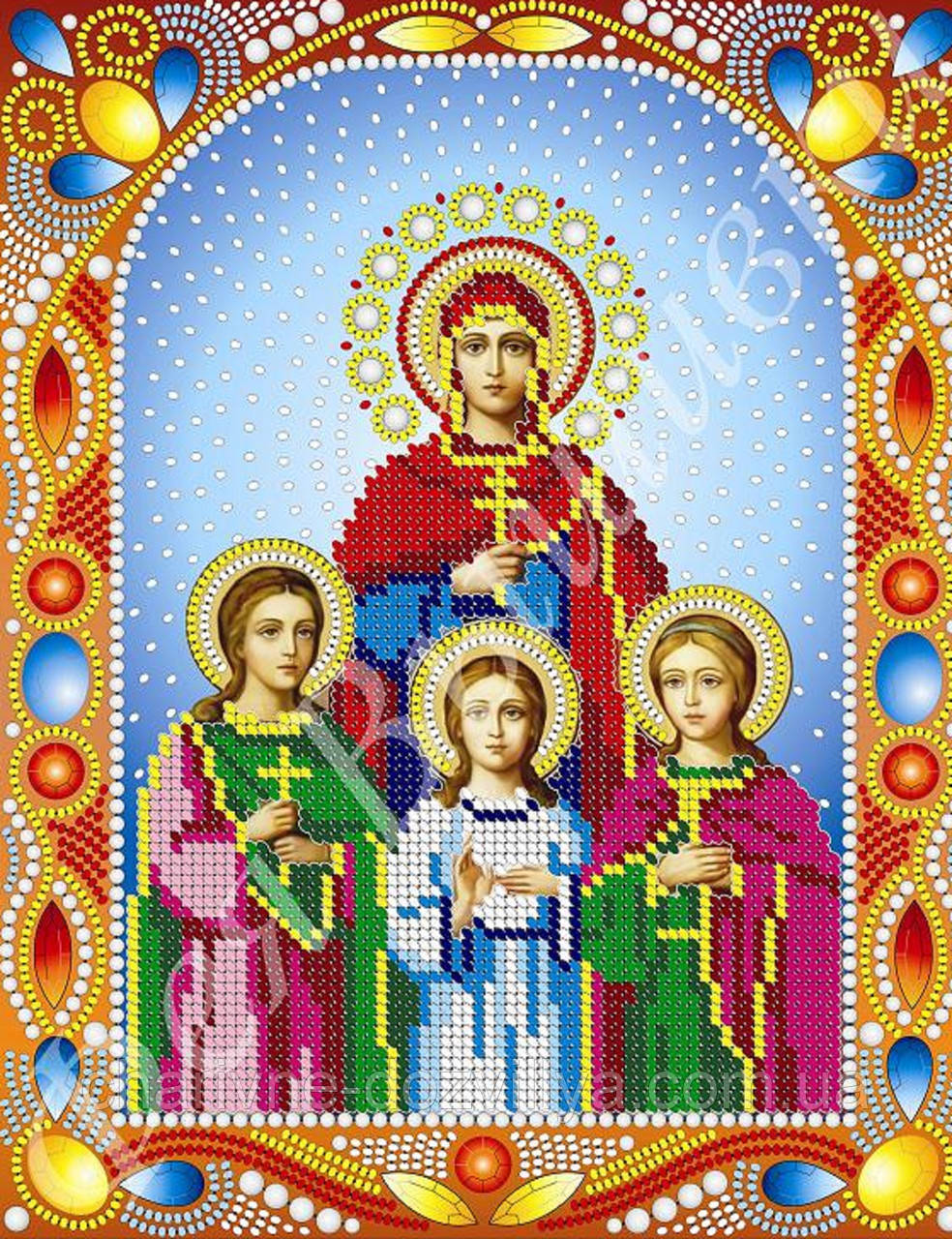 Схема иконы вера надежда любовь фото 946