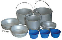 Набор туристической посуды из алюминия Tramp TRC-002