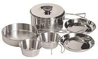 Набор туристической посуды из нержавеющей стали Tramp TRC-001