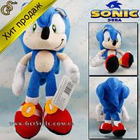 "Плюшевая игрушка Соник - ""Plush Sonic"" - 27 см. Оригинал! , фото 1"
