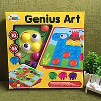 Мозаика для самых маленьких Genius Art 66808 3D Пазл