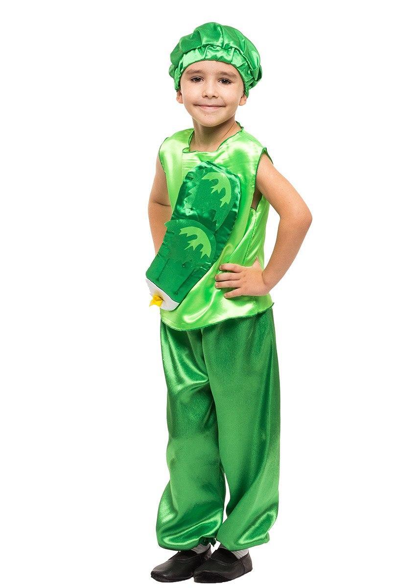 """Детский карнавальный костюм """"Огурчик"""" для мальчика"""