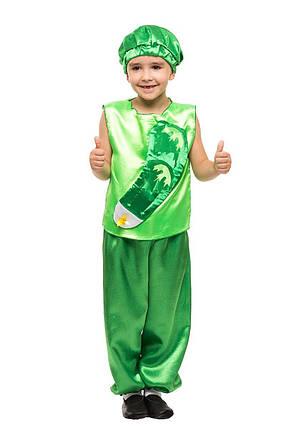 """Детский карнавальный костюм """"Огурчик"""" для мальчика, фото 2"""