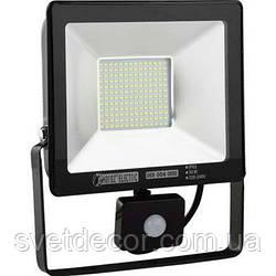 Светодиодный прожектор Horoz 50w с датчиком движения
