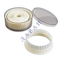 Набор форм пластмассовый 1/6 кольца для гарнира