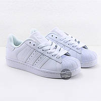 Кроссовки мужские Adidas Superstar All White оригинал | Адидас Суперстар мужские белые, фото 1