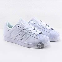 Кроссовки мужские Adidas Superstar All White оригинал   Адидас Суперстар мужские белые
