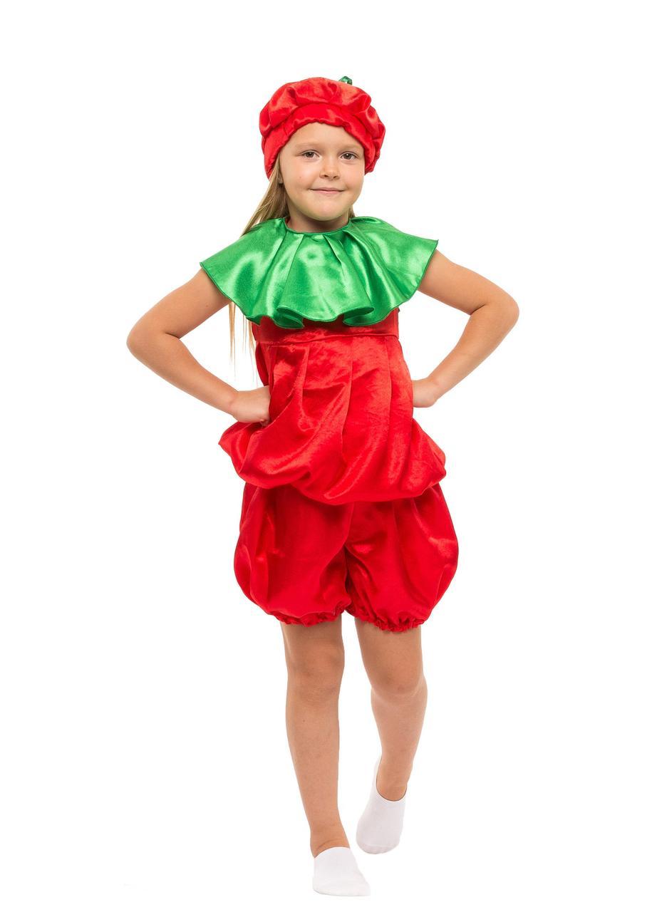 """Детский карнавальный костюм """"Помидор"""" унисекс"""