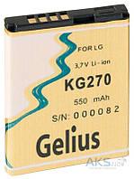 Аккумулятор LG KG270 / LGIP-411A (550 mAh) Gelius