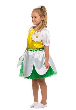 """Детский карнавальный костюм """"Ромашка"""" для девочки, фото 2"""