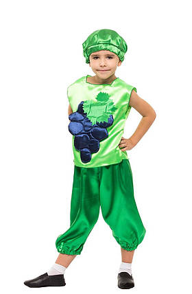 """Детский карнавальный костюм """"Виноград"""" для мальчика, фото 2"""