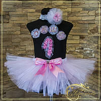 Светло Розовая юбка пачка