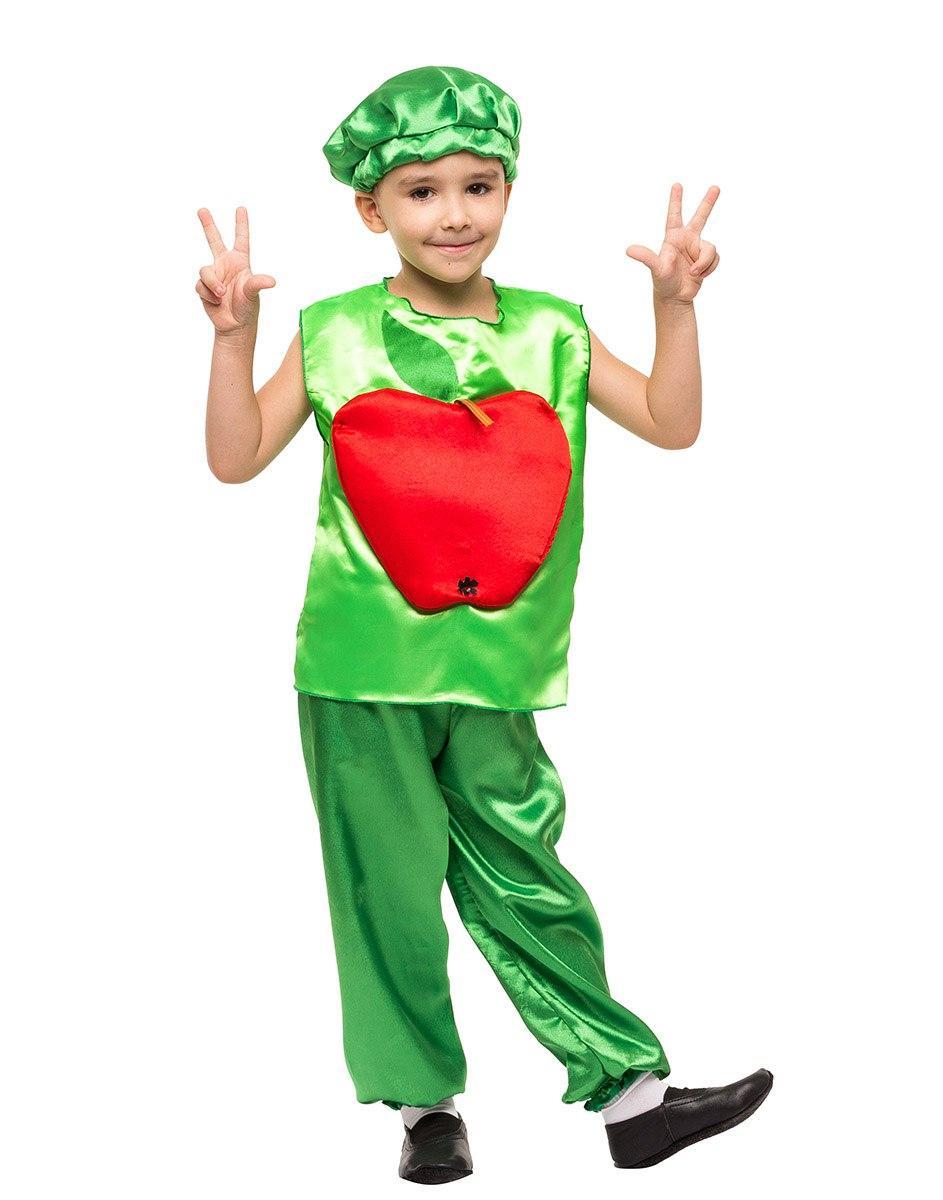 """Детский карнавальный костюм """"Яблоко"""" для мальчика"""