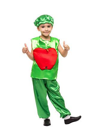 """Детский карнавальный костюм """"Яблоко"""" для мальчика, фото 2"""