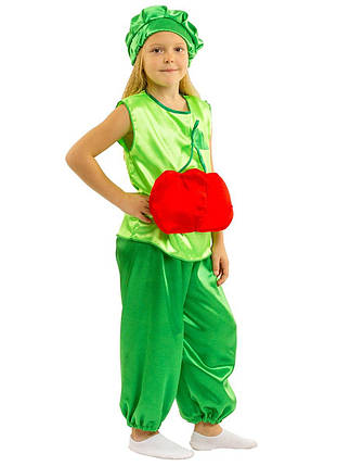"""Детский карнавальный костюм """"Вишенка"""" для девочки, фото 2"""