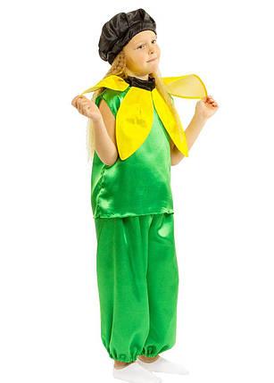 """Детский карнавальный костюм """"Подсолнух"""" унисекс, фото 2"""