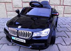 Детский электромобиль BMW B4 черный + Пластик или EVA колеса + Пластик или Кожа сидение, фото 2