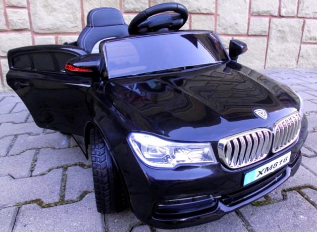 Детский электромобиль BMW B4 черный + Пластик или EVA колеса + Пластик или Кожа сидение