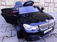 Детский электромобиль Cabrio B4 черный + EVA колеса + Кожа сидение