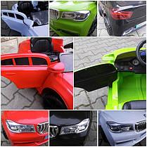 Детский электромобиль BMW B4 черный + Пластик или EVA колеса + Пластик или Кожа сидение, фото 3