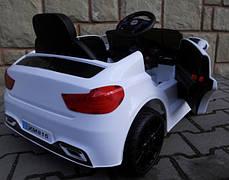 Детский электромобиль BMW B4 белый + Пластик или EVA колеса + Пластик или Кожа сидение, фото 3