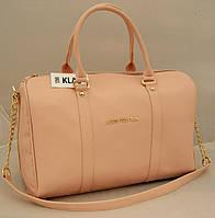 Женская сумка саквояж Louis Vuitton, цвет пудра ( розовый ) Луи Виттон
