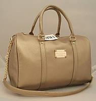 Женская сумка саквояж Louis Vuitton, цвет золото Луи Виттон LV