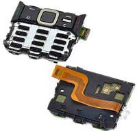 Шлейф для Nokia N82 с цифровой клавиатурой, в сборе Black