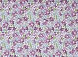 "Тюль под лен (кисея) ""Хризантемы"", цвет № 1, фото 2"