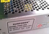 Блок питания Sunpower FDSP-40A AC Input 110/220V DC Output 12V 3,2A