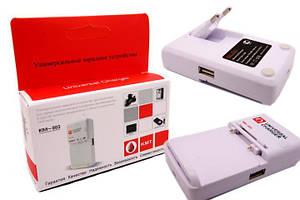 """Сетевое зарядное устройство Универсальное для АКБ """"KMT (KM-05)"""" c USB"""
