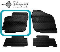 Toyota RAV 4 2013- Водительский коврик Черный в салон