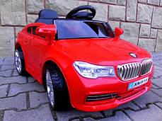 Детский электромобиль BMW B4 красный + Пластик или EVA колеса + Пластик или Кожа сидение, фото 2