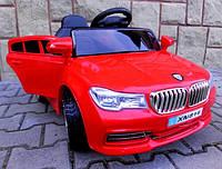 Детский электромобиль Cabrio B4 красный + EVA колеса + Кожа сидение