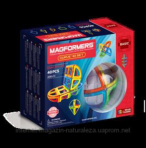 Магнитный конструктор ТМ Magformers Базовый набор Дуга 40 элементов, фото 2