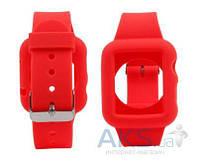 iBest силиконовый ремешок для Apple watch 42mm Red