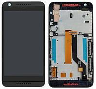 Дисплей (экран) для телефона HTC Desire 626 Dual Sim + Touchscreen with frame Original Black