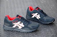 Мужские кроссовки синтетическая кожа, замша темно-синие, черные (Код: 843а), фото 1