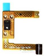 Шлейф для Lenovo A656 / A658T / A660 / A670T / A690 / A698T с кнопкой включения и датчиком приближения Original