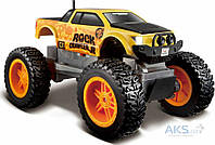 Игрушка на радиоуправлении Maisto Rock Crawler Jr. (81162) yellow/black