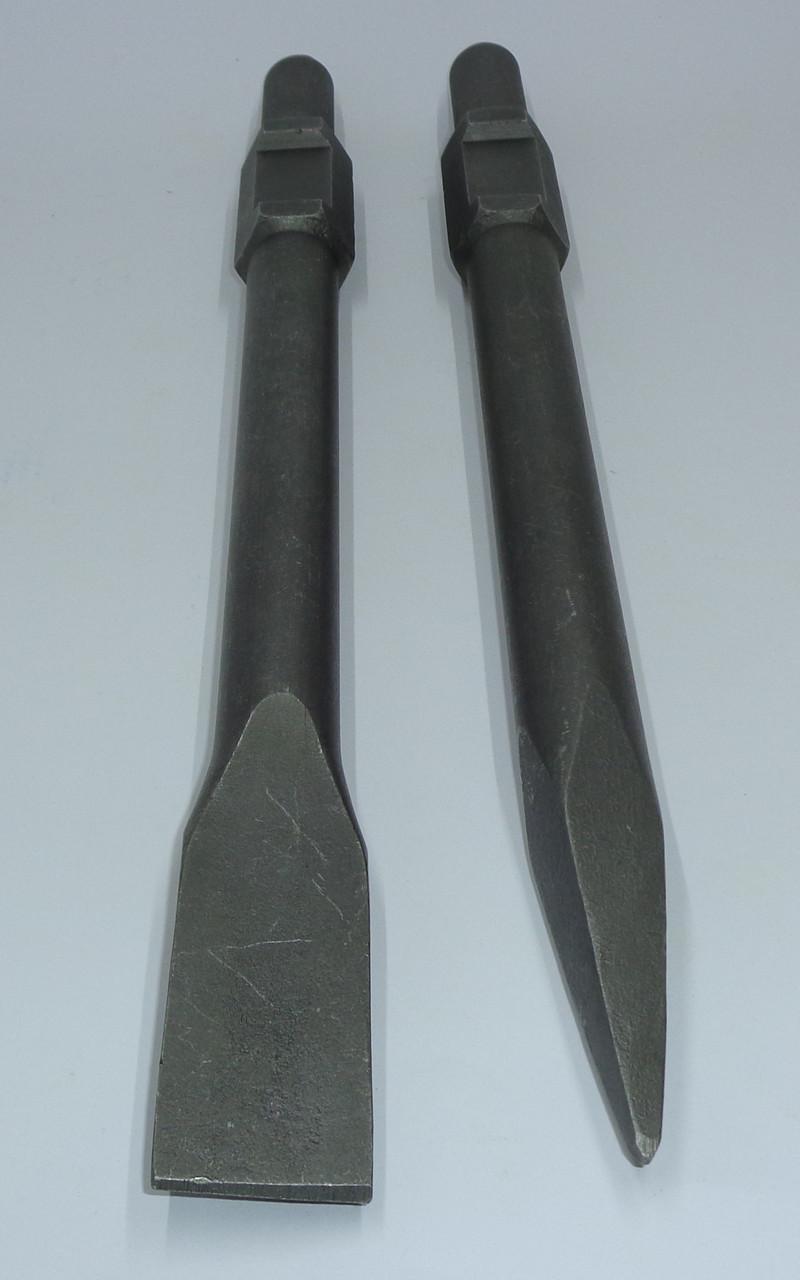 Пікове Зубило для відбійних молотків шестигранне довжина 800