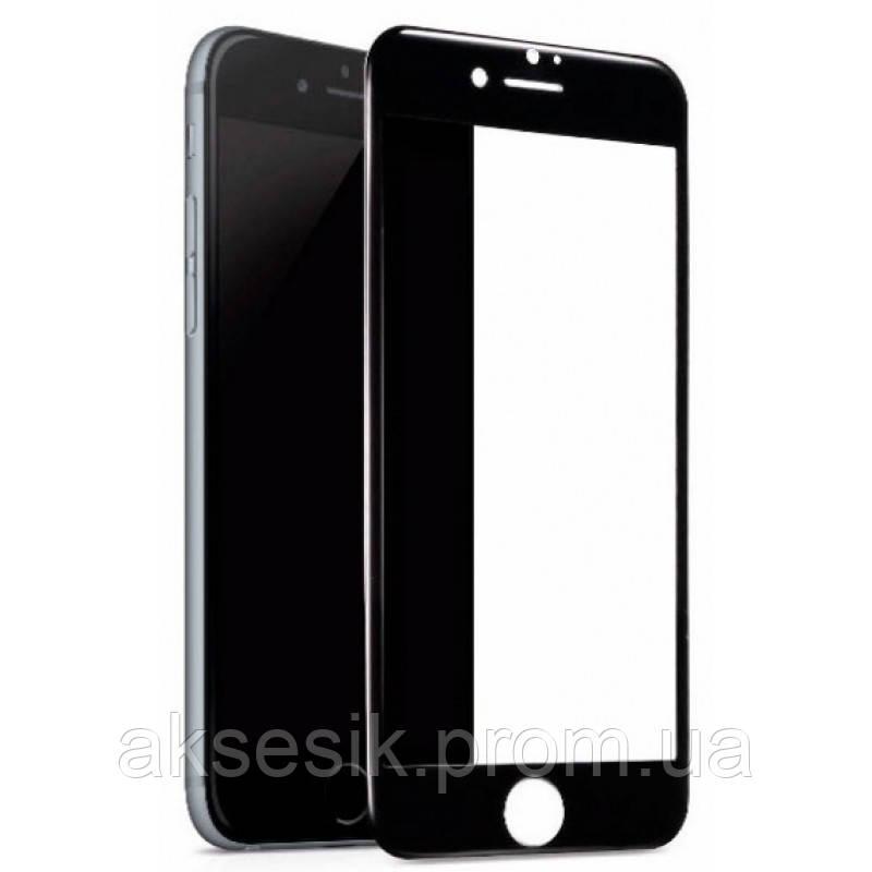 Противоударное стекло Glass FULL SCREEN 4D Black iPhone 6/6s Plus без упаковки