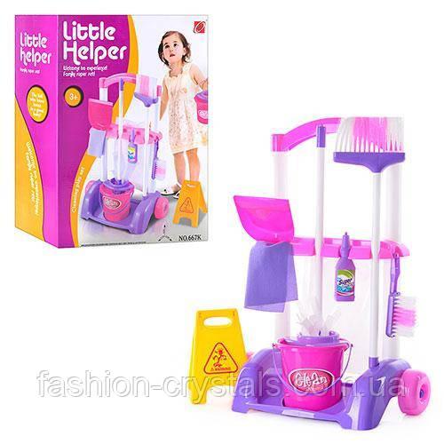 Игровой набор для уборки Little Helper