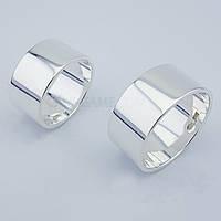 Обручальные кольца Американка (серебро)