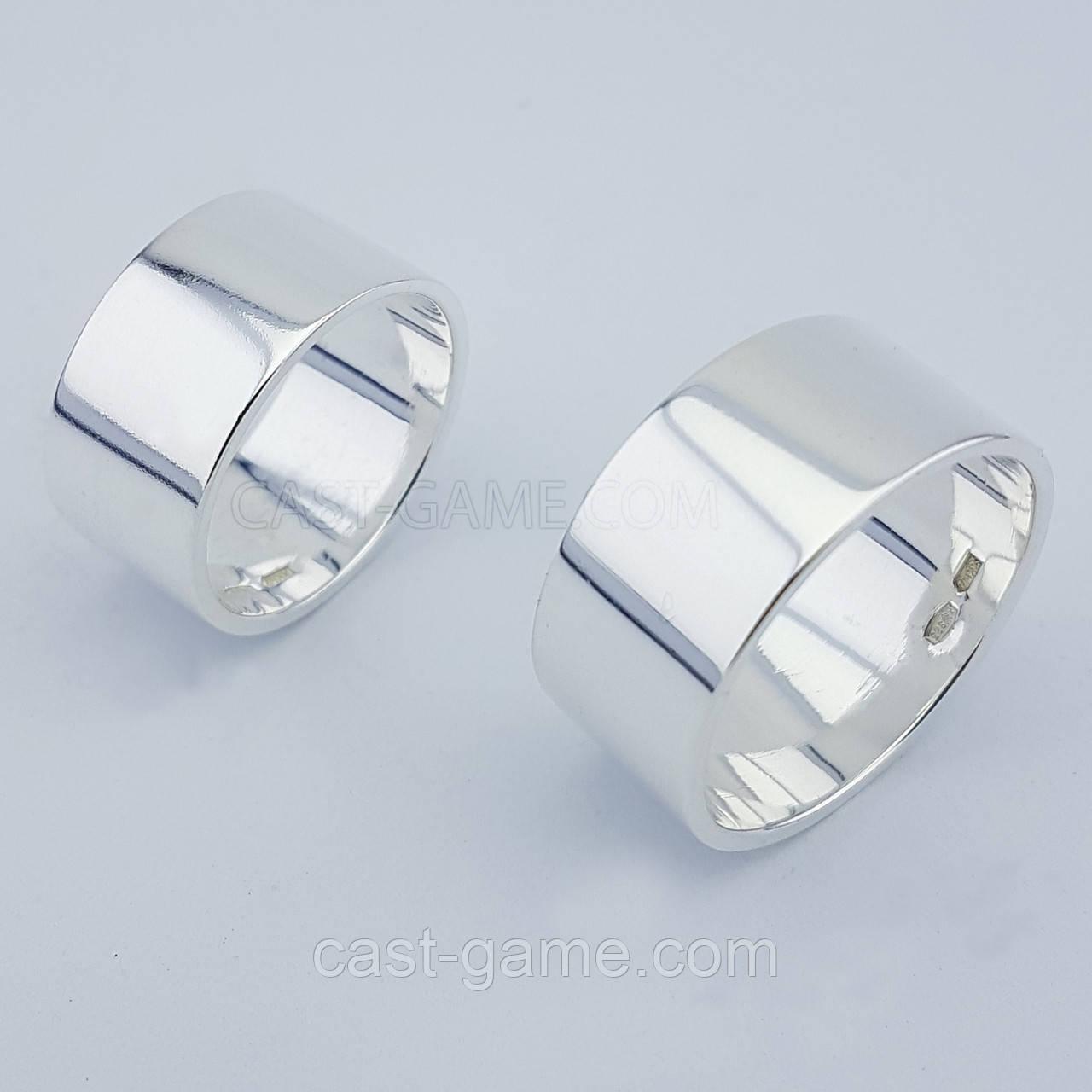 f778ea5b944e Обручальные кольца Американка (серебро) - CAST ювелирная мастерская в  Харькове