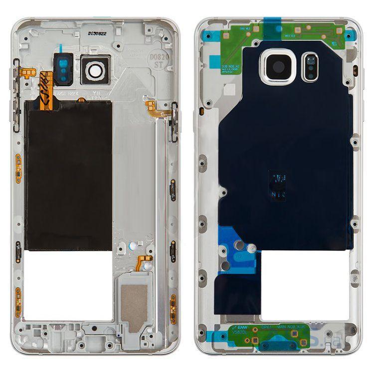 Средняя часть корпуса Samsung N9200 Galaxy Note 5 White