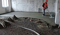 Устройство цементных стяжек. Устройство цементно-песчаных стяжек и бетонных полов
