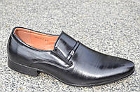 Модельные туфли с острым носком на резинке без шнурков 2017. Экономия