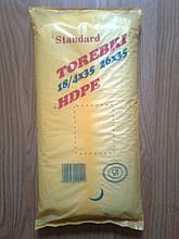 Пакети 18*35 см фасувальні міцні,1000 шт/уп. щільний пакет для фасування без ручок